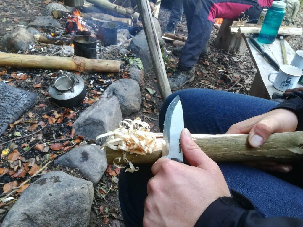 Primitiv ild og bål Outdoorpassion